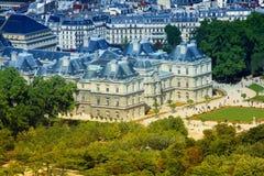 Het paleis van Luxemburg Stock Afbeelding