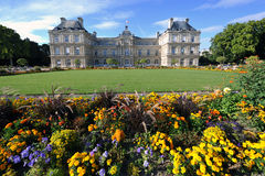 Het paleis van Luxemburg in Parijs Royalty-vrije Stock Afbeeldingen