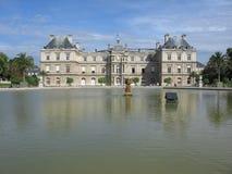 Het Paleis van Luxemburg, Parijs stock foto's