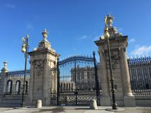 Het Paleis van Madrid Royalty-vrije Stock Foto's