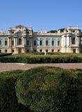 Het paleis van Mariinsk in Kiev Stock Foto