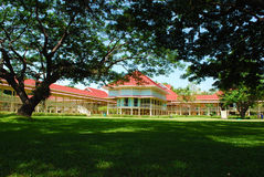 Het paleis van Maruekhathayawan in Thailand Stock Foto