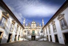 Het Paleis van Mateus, Portugalia Stock Foto