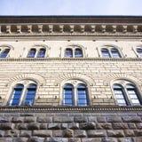 Het Paleis van Medici Riccardi (Italië-Toscanië-Florence) stock afbeeldingen