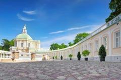 Het Paleis van Menshikov in Heilige Petersburg royalty-vrije stock foto