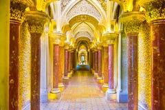 Het Paleis van Monserrate royalty-vrije stock afbeeldingen