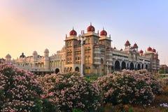 Het Paleis van Mysore stock foto's