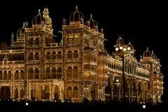 Het Paleis van Mysore Stock Fotografie