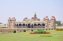 Het Paleis van Mysore in India stock fotografie