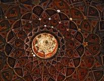 Het Paleis van Nasht Behesht van het plafond, Isphahan Stock Foto's