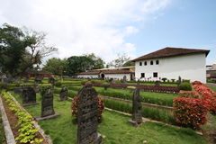 Het Paleis van Nayaka met tuin Royalty-vrije Stock Foto's
