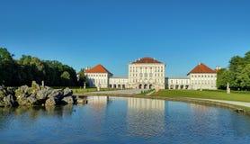 Het Paleis van Nymphenburg Stock Foto