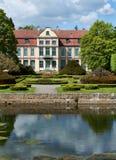 Het paleis van Opatow in Gdansk Oliwa. Stock Afbeeldingen