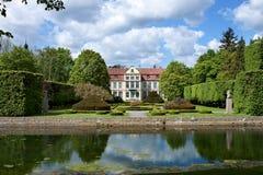 Het paleis van Opatow in Gdansk Oliwa. Stock Foto's