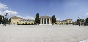 Het Paleis van panoramazappeion voor Olympische behoeften wordt gebouwd die S royalty-vrije stock afbeelding