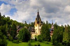 Het paleis van Peles Royalty-vrije Stock Afbeelding