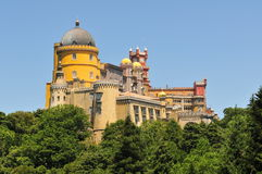 Het paleis van Pena Stock Foto
