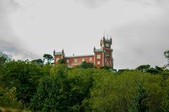 Het paleis van Pena Stock Foto's