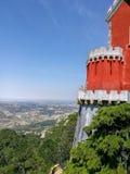 Het paleis van Pena in Portugal royalty-vrije stock fotografie