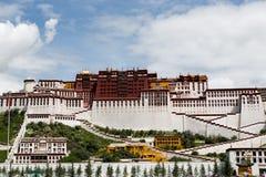 Het Paleis van Potala De plaats van de Dalailama Lhasa, Tibet Royalty-vrije Stock Fotografie