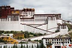 Het Paleis van Potala De plaats van de Dalailama Lhasa, Tibet Stock Afbeeldingen