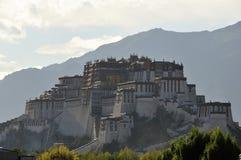 Het Paleis van Potala, Lhasa, Tibet Stock Foto