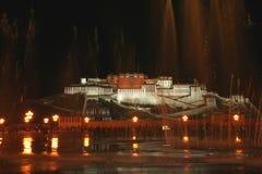 Het Paleis van Potala van Tibet in Lhasa Royalty-vrije Stock Afbeelding