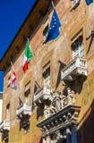Het Paleis van Prefectuur in Turijn royalty-vrije stock foto