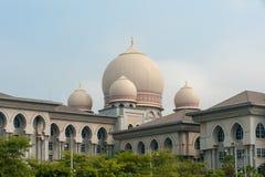 Het Paleis van Rechtvaardigheid Putrajaya Stock Afbeelding