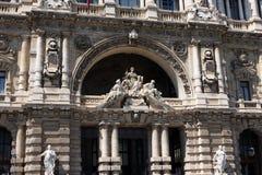 Het Paleis van Rechtvaardigheid, Rome, Italië royalty-vrije stock foto