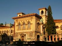Het Paleis van Rumine, Lausanne, CH stock foto's