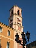 Het Paleis van Rusca in Nice Stock Foto's