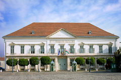 Het Paleis van Sandor in Boedapest Royalty-vrije Stock Fotografie