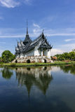 Het Paleis van Sanphetprasat bij Oude stad Stock Foto's