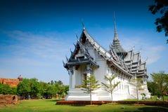 Het Paleis van Sanphetprasat in Thailand Stock Afbeeldingen