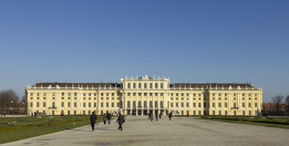 Het Paleis van Schönbrunn in Wenen Royalty-vrije Stock Foto's