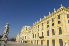 Het Paleis van Schönbrunn in Wenen Stock Foto's