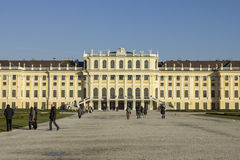 Het Paleis van Schönbrunn in Wenen Royalty-vrije Stock Fotografie