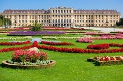 Het paleis van Schonbrunn stock afbeelding