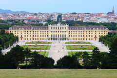 Het Paleis van Schonbrunn royalty-vrije stock afbeelding