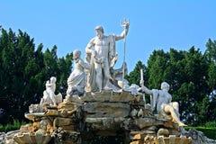 Het paleis van Schonbrunn, Wenen, Oostenrijk royalty-vrije stock fotografie