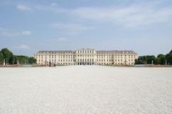 Het paleis van Schonbrunn, Wenen, Oostenrijk Royalty-vrije Stock Afbeelding