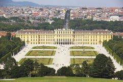 Het paleis van Schonbrunn, Wenen, Oostenrijk Royalty-vrije Stock Foto's