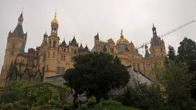 Het paleis van Schwerin stock foto