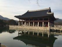 Het Paleis van Seoel Zuid-Korea Gyeongbokgung stock foto's