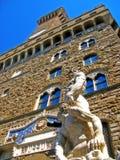 Het Paleis van Signoria, Florence stock foto's