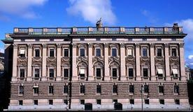 Het Paleis van Stockholm in Zweden stock afbeeldingen