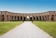 Het Paleis van Te - Mantova Royalty-vrije Stock Foto's