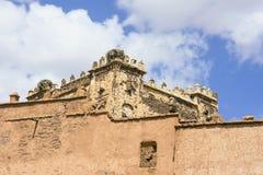Het paleis van Telouetkasbah Stock Fotografie