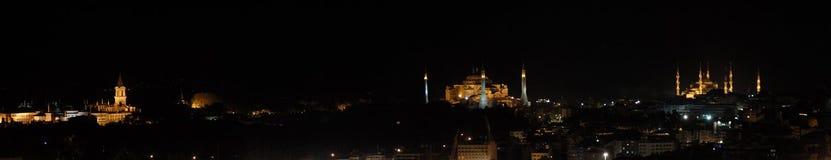 Het paleis van Topkapi, hagiasophia en blauwe moskee Royalty-vrije Stock Afbeelding